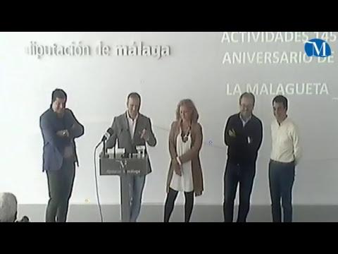 Presentación de actos del 145º aniversario de la plaza de toros de La Malagueta