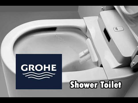 Grohe Sensia Shower Toilet – Auto Wash