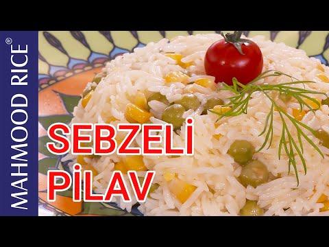 Sebzeli Pilav