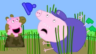 Peppa Pig Official Channel   Chasing George Pig's Woolly Hat with Peppa Pig