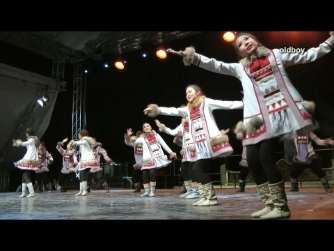 Kytalyk Folk Dance Group, Mayya Yakutia in Hungary видео