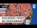 Uitzinnige fans in Oranjemars: 'Straks gaan we pieken!'