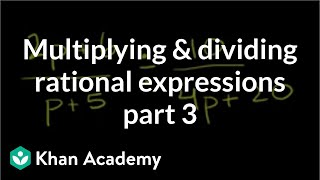 Multiplying and Dividing Rational Expressions 3