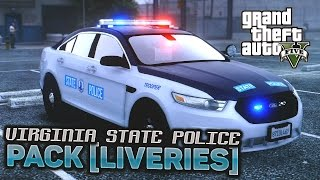 Virginia State Police Pack [Liveries]
