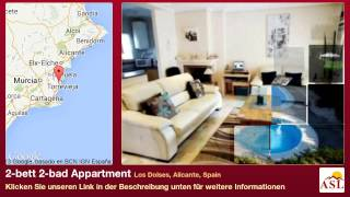 preview picture of video '2-bett 2-bad Appartment zu verkaufen in Los Dolses, Alicante, Spain'