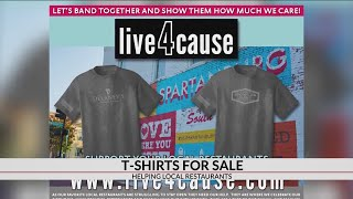 Spartanburg Co. business sells t-shirts to help local restaurants