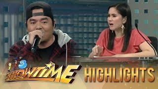 It's Showtime HypeBest: Mariel's reaction to Gloc 9's rap