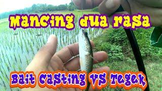 preview picture of video 'Mancing DUA RASA disatu spot rasanya gimana gitu... || Gabus/haruan & betok/papuyu'