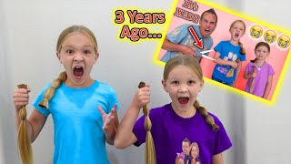 Recreating Our Most Hated Video!!! Cutting the Girls' Hair!