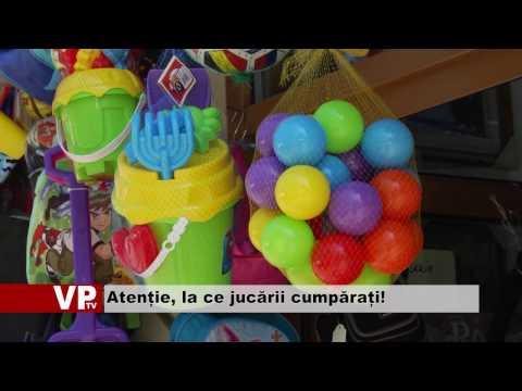 Atenție, la ce jucării cumpărați!