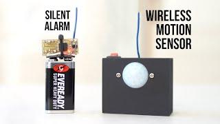 Build A Wireless PIR Motion Alarm