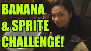 BANANA AND SPRITE CHALLENGE! - #DailyDose Ep.35 | #G1GB