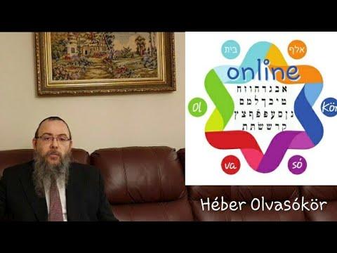206 Imádkozni héberül a legjobb – Oberlander Báruch (2 éves a Héber Olvasókör, oho.tfilin.hu)