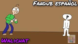 basically baldi's basics - animacion // fandub // Walichat