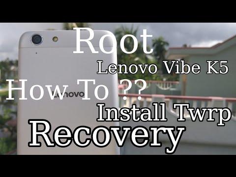 Hindi - हिन्दी] How To Root Lenovo Vibe K5 & K5 Plus