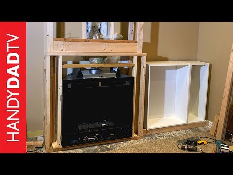 DIY Fireplace Installation - Framing and Final Connections