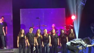 """""""I Want to Know What Love Is"""" Foreigner & Cherokee School Choir@Susquehanna Camden, NJ 7/3/14"""