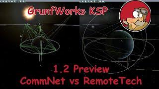 Kerbal Space Program - 1.2 Preview - CommNet vs RemoteTech