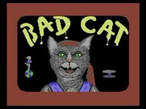The Commodore 64 Game Bad Cat Had Some Pretty Amazing Music, Too
