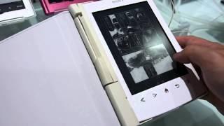 ソニーの電子書籍リーダー「Reader」新機種「PRS-T2」マンガページめくり