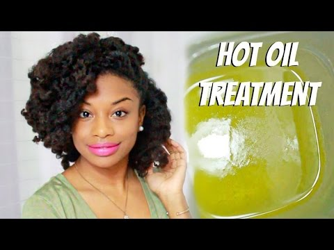 Video Do It Yourself | Hot Oil Treatment For Dry and Frizzy Natural Hair