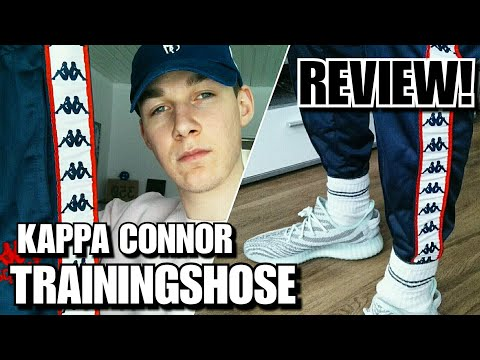 KAPPA 'CONNOR' TRAININGSHOSE REVIEW