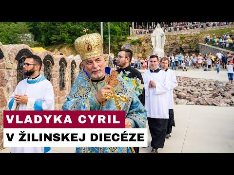 Vladyka Cyril navštívil Sanktuárium Božieho Milosrdenstva na hore Butkov v Žilinskej diecéze