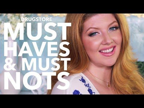 Drugstore Makeup Favorites   Must Haves & Must Nots