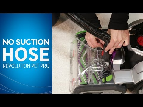 ProHeat 2X® Revolution™ Pet Pro No Suction at Hose Video