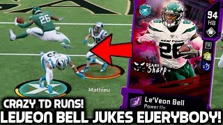 LEVEON BELL JUKES OUT PLAYERS! OUR SUPER BOWL GAME! Madden 20 Ultimate Team