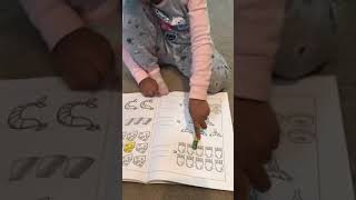 4 year old writing numbers
