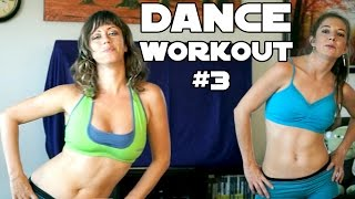 Fun Dance Workout #3 For Weight Loss, Core, Abs & Flat Tummy at Home Beginners Cardio Exercises by PsycheTruth