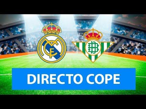 (SOLO AUDIO) Directo del Real Madrid 0-2 Betis en Tiempo de Juego COPE