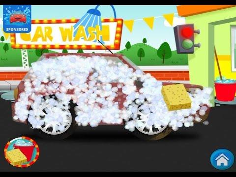 Машинки. Автомойка для машинок игра для детей