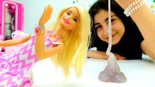#Барби и украшения из ЛИЗУНА. #DIY поделки своими руками. Tube girls