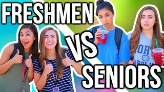 FRESHMAN YEAR vs SENIOR YEAR ft. Jeanine Amapola | Back To School 2018