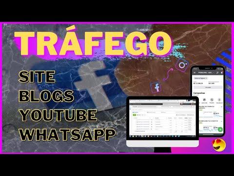 Como Obter Trafego para Blogs Youtube Adsense Site   Tráfego Pago   Facebook ADS