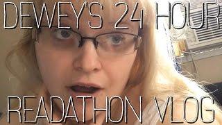 2017 READING VLOGS | DEWEY'S 24-HOUR READATHON [CC]