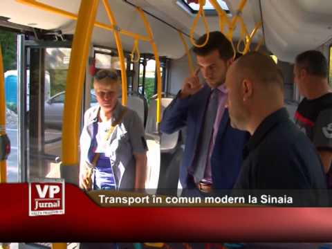 Transport în comun modern la Sinaia