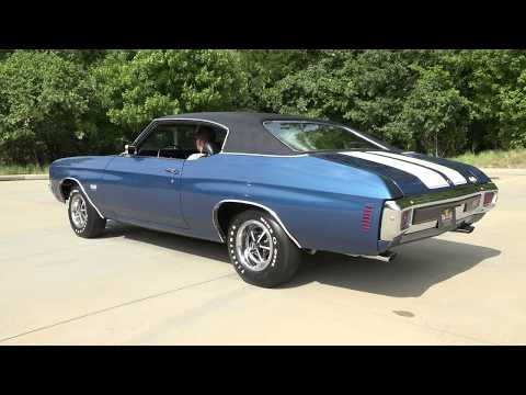 Video of '70 Chevelle SS - J14M