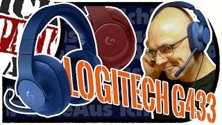 Logitech G433 GAMiNG Headset / 7.1 Kopfhörer / Für PC Playstation XBox Switch / ERSTEiNDRUCK Review