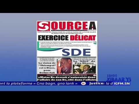 REPLAY - Revue de Presse - Pr : MAMADOU MOUHAMED NDIAYE - 06 Décembre 2019