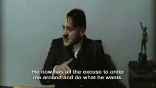 Hitler is informed Fegelein's his father