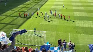 Šporar scores two goals