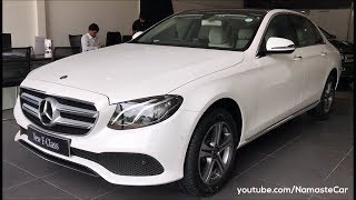 Mercedes-Benz E-Class E220d W213 2017 | Real-life review