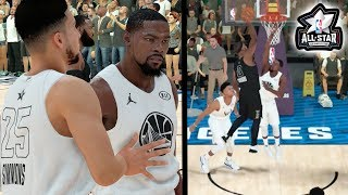 INSANE ALL STAR GAME! Kevin Durant Wants to Fight After Getting Dunked On! NBA 2k19 MyCareer Ep. 28