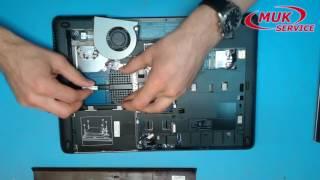 Замена модуля охлаждения в ноутбуке HР 640 G1