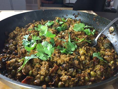 Video Lamb Keema (Indian Spiced Ground Lamb) Recipe -Food Flipped EP6