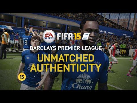 FIFA 15 video – tváře a stadiony Barclays Premier League