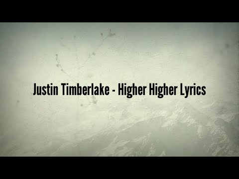 justin timberlake lyrics - 480×360